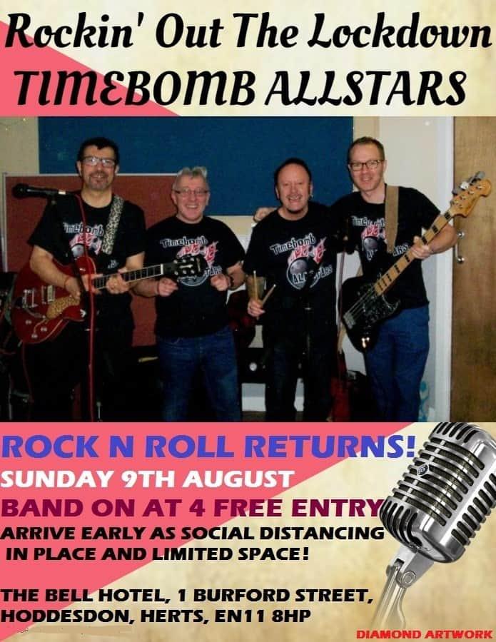 timebomb allstars 9th august 2020